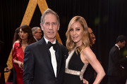Jon Feltheimer (L) and Laurie Feltheimer attend the 90th Annual Academy Awards at Hollywood & Highland Center on March 4, 2018 in Hollywood, California.