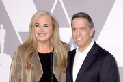 Producer Darla K. Anderson (L) and director Lee Unkrich attend the 90th Annual Academy Awards Nominee Luncheon at The Beverly Hilton Hotel on February 5, 2018 in Beverly Hills, California.
