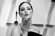 (Editor's Note; Image converted to black and white) Ashley Graham attends the 91st Annual Academy Awards at Hollywood and Highland on February 24, 2019 in Hollywood, California.