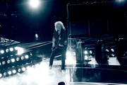Brian May of Queen (back) and Adam Lambert perform onstage during the 91st Annual Academy Awards at Dolby Theatre on February 24, 2019 in Hollywood, California.