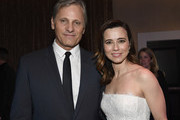 (L-R) Viggo Mortensen and Linda Cardellini attend the 91st Oscars Nominees Luncheon at The Beverly Hilton Hotel on February 04, 2019 in Beverly Hills, California.