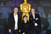 (L-R) John Walker, Nicole Paradis Grindle, and Brad Bird attend the 91st Oscars - Oscar Week: Animated Features at the Academy of Motion Picture Arts and Sciences on February 23, 2019 in Beverly Hills, California.