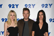Dakota Fanning, Ewan McGregor and Jennifer Connelly attend the 92Y Reel Pieces for the film 'American Pastoral' at 92nd Street Y on October 18, 2016 in New York City.