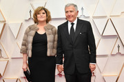 (L-R) Producer Amy Pascal and journalist Bernard Weinraub attend the 92nd Annual Academy Awards at Hollywood and Highland on February 09, 2020 in Hollywood, California.