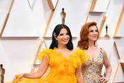 (L-R) Kathrine Narducci and Stephanie Kurtzuba attend the 92nd Annual Academy Awards at Hollywood and Highland on February 09, 2020 in Hollywood, California.