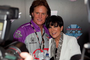 Kris Jenner Bruce Jenner 94th Running Of The Indianapolis 500 - Celebrities Attend Race