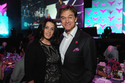 Lisa Oz and Dr. Oz attend the 9th Annual Shorty Awards at PlayStation Theater on April 23, 2017 in New York City.