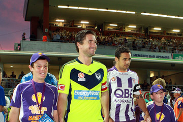 Harry Kewell A-League Rd 25 - Perth v Victory