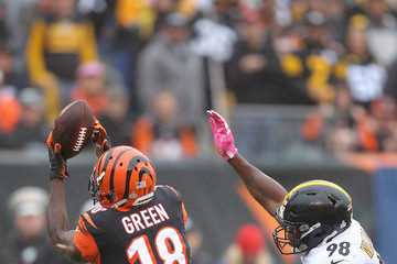A.j. Green Pittsburgh Steelers vs. Cincinnati Bengals