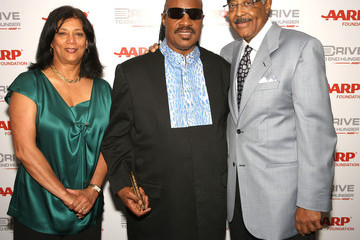 Donna Rand AARP's Drive To End Hunger Benefit Concert At The Staples Center