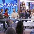 Michael Strahan and George Stephanopoulos Photos