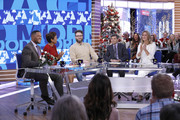 Michael Strahan and George Stephanopoulos Photos Photo