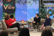 "THE VIEW - Jimmy Fallon is a guest on ""The View,"" Tuesday, December 12, 2017 airing on the ABC Television Network. (Photo by Lou Rocco/ABC via Getty Images).JOY BEHAR, WHOOPI GOLDBERG, JIMMY FALLON, SARA HAINES"