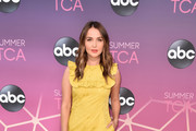Camilla Luddington attends ABC's TCA Summer Press Tour Carpet Event on August 05, 2019 in West Hollywood, California.