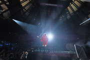 Guitar player Angus Young of AC/DC performs during the AC/DC Rock Or Bust Tour at Madison Square Garden on September 14, 2016 in New York City.