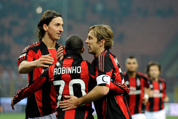 Robinho Zlatan Ibrahimovic Pictures Photos Images Zimbio