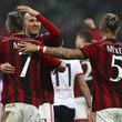 Philippe Mexes and Jeremy Menez Photos