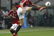 Zlatan Ibrahimovic Kevin-Prince Boateng Photos Photo