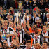 Giorgio Chiellini Photos - Giorgio Chiellini (C) with his teammates of Juventus FC celebrate with the trophy after winning the TIM Cup final match against AC Milan at Stadio Olimpico on May 21, 2016 in Rome, Italy. - AC Milan v Juventus FC - TIM Cup Final