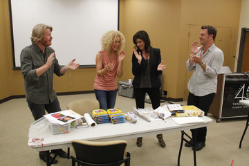 Little Big Town Kimberly Schlapman ACM Lifting Lives Music Camp Art N'Music Session with LITTLE BIG TOWN
