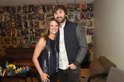 Dave Haywood of Lady Antebellum (R) and Kelli Cashiola at the ACM Party For A Cause: The Joint on April 1, 2017 in Las Vegas, Nevada.