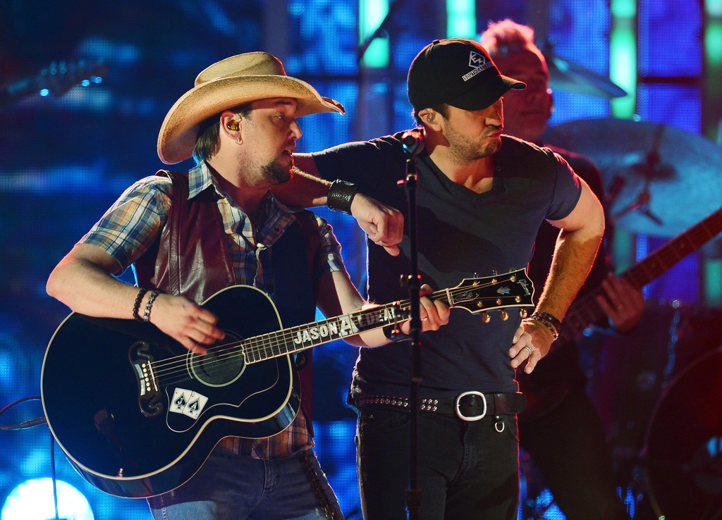 Jason Aldean And Luke Bryan Photos Photos Tim Mcgraws Superstar
