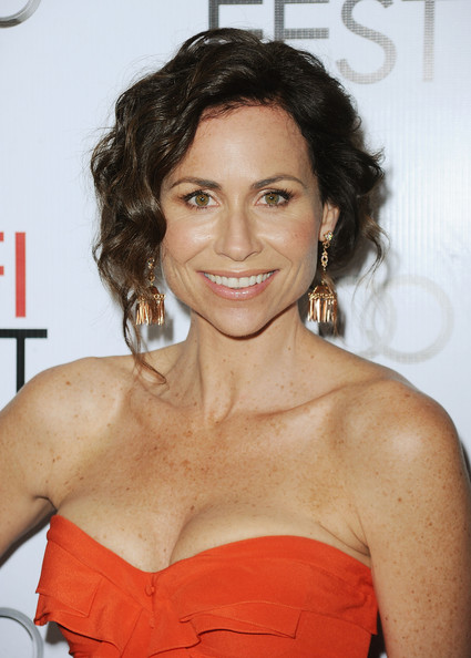 "Actress  Minnie Driver arrives at ""Barney's Version"" screening during AFI FEST 2010 presented by Audi held at Egyptian Theatre on November 6, 2010 in Hollywood, California."