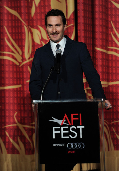 "Darren Aronofsky speaks on stage at the ""Black Swan"" closing night gala during AFI FEST 2010 presented by Audi held at Grauman's Chinese Theatre on November 11, 2010 in Hollywood, California."