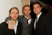 """(L-R) Director Derek Cianfrance, actor Ryan Gosling and Producer Jamie Patricof attend the """"Blue Valentine"""" screening after party during AFI FEST 2010 presented by Audi held at the Hollywood Roosevelt Hotel on November 6, 2010 in Hollywood, California."""