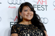 Actress Misty Upham attends The Los Angeles Times Young Hollywood Roundtable during AFI FEST 2013 presented by Audi .at TCL Chinese Theatre on November 8, 2013 in Hollywood, California.