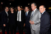"(L-R) Co-President and Co-Founder of Sony Pictures Classics Tom Bernard, producer Megan Ellison, director/producer Bennett Miller, actor Steve Carell, Co-President and Co-Founder of Sony Pictures Classics Michael Barker, and producer Jon Kilik attend the premiere of Sony Pictures Classics' ""Foxcatcher"" during AFI FEST 2014 presented by Audi at Dolby Theatre on November 13, 2014 in Hollywood, California."