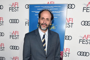 """Luca Guadagnino attends the screening of """"Call Me By Your Name"""" at AFI FEST 2017 Presented By Audi at TCL Chinese Theatre on November 10, 2017 in Hollywood, California."""