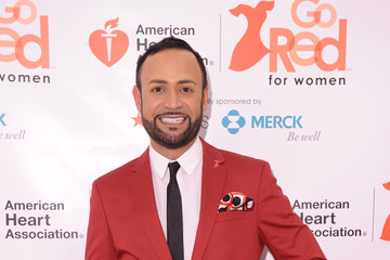 Nick Verreos Celebs Wear Red at Macy's