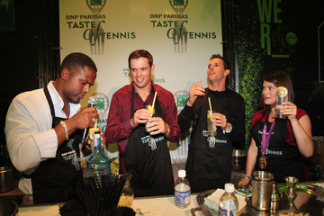 AJ Calloway Gail Simmons 13th Annual BNP PARIBAS TASTE OF TENNIS, Benefitting New York Junior Tennis & Learning - Inside
