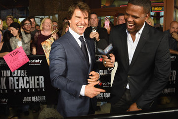 AJ Calloway 'Jack Reacher: Never Go Back' Variety - The Children's Charity of Eastern Tennessee Benefit Screening