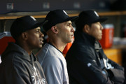Curtis Granderson Raul Ibanez Photos Photo