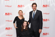 Renee Zellweger, Nanci Ryder, and Fred Fisher attend ALS Golden West Chapter Hosts Champions For Care And A Cure at The Fairmont Miramar Hotel & Bungalows on December 2, 2017 in Santa Monica, California.