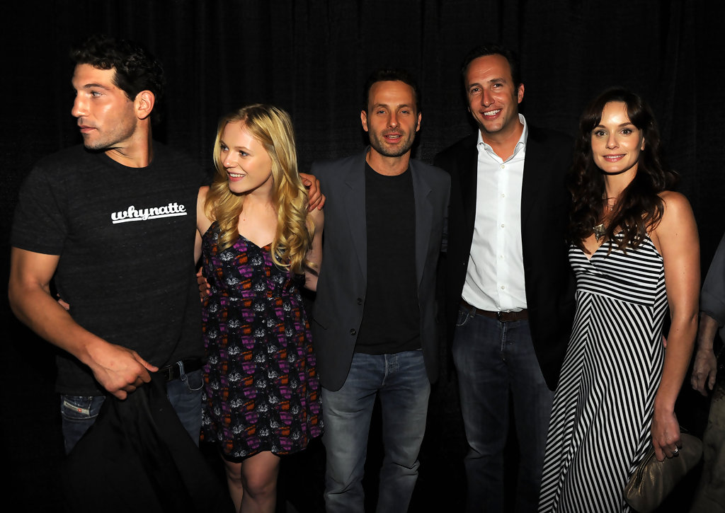 Jon Bernthal And Andrew Lincoln Photos Photos Amc S Quot The