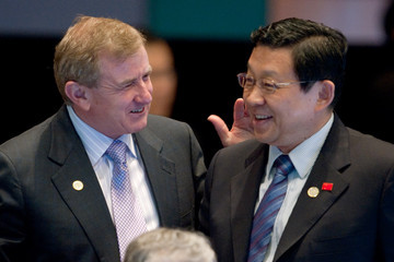 Chen Deming APEC CEO Summit Opening Reception & Minister Arrivals In Singapore