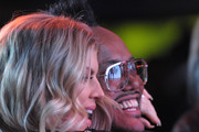 Fergie (L) and APL.De.Ap of the Black Eyed Peas attend APL.De.Ap's Birthday Celebration and Launch of Charity Dreams at The Conga Room at L.A. Live on December 13, 2011 in Los Angeles, California.