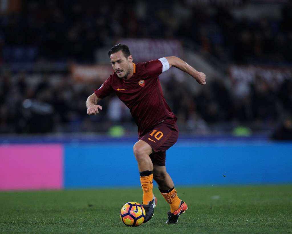 Francesco Totti Photos Photos - AS Roma v AC Cesena - TIM ...