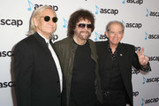 (L-R) Joe Walsh, Jeff Lynne and Benmont Tench attend the ASCAP 2019 Pop Music Awards at The Beverly Hilton Hotel on May 16, 2019 in Beverly Hills, California.