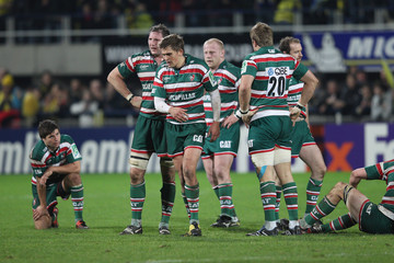 Leicester Tigers Dejection ASM Clermont Auvergne v Leicester Tigers - Heineken Cup