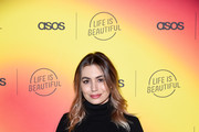Sophie Simmons attends ASOS celebrates partnership with Life Is Beautiful at No Name on April 25, 2019 in Los Angeles, California.