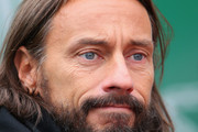 DJ Bob Sinclar watches on as Stanislas Wawrinka of Switzerland plays against Roger Federer of Switzerland in the final during day eight of the ATP Monte Carlo Rolex Masters Tennis at Monte-Carlo Sporting Club on April 20, 2014 in Monte-Carlo, Monaco.