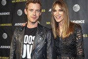 Actors Harry Treadaway and Kelly Lynch attend a FYC Screening of Mr. Mercedes at Hollywood Forever on April 15, 2018 in Hollywood, California.