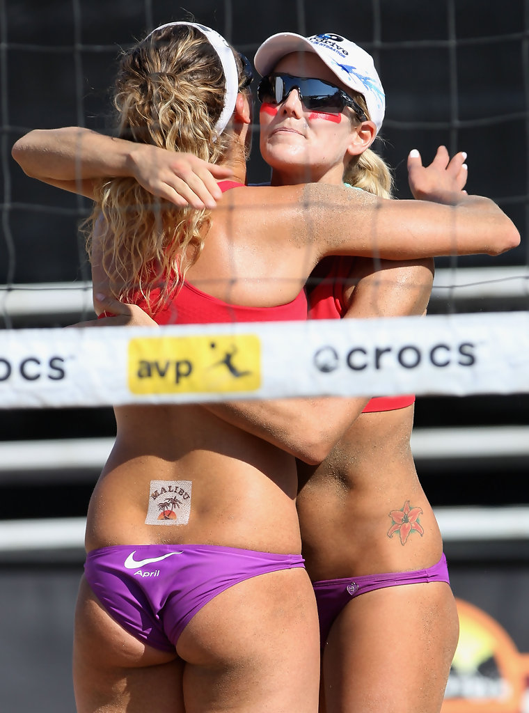 girls Brazil beach nude volleyball