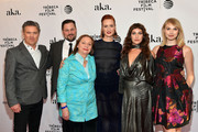 """(L-R) Cast of """"AWOL"""" Bill Sage, Ted Welch, Dale Soules, Breeda Wool, Lola Kirke and Charlotte Maltby attend the """"AWOL"""" Premiere during the 2016 Tribeca Film Festival at SVA Theatre on April 15, 2016 in New York City."""