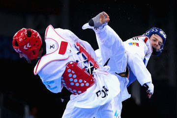 Aaron Cook Taekwondo Day 6: Baku 2015 - 1st European Games