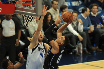 Aaron Gordon Orlando Magic v Dallas Mavericks